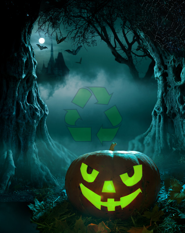 Halloween recycle
