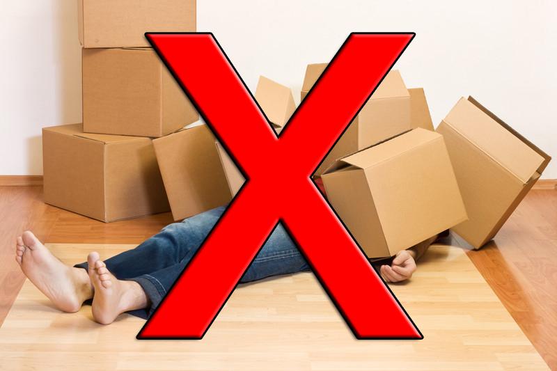 Box overwhelm NO